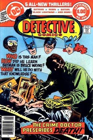 Batman - Detective Comics # 494