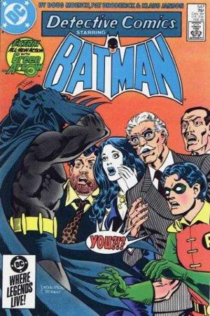 Batman - Detective Comics # 547