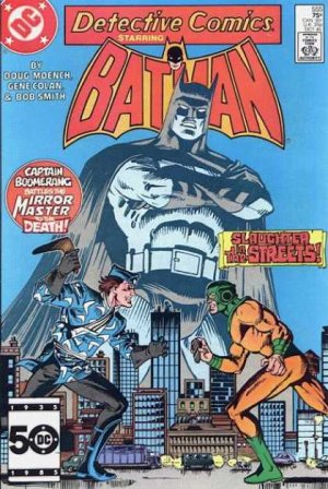 Batman - Detective Comics # 555