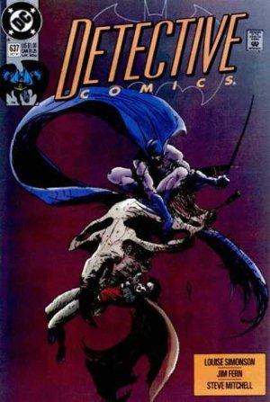 Batman - Detective Comics # 637