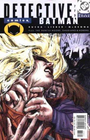 Batman - Meurtrier et Fugitif # 773 Issues V1 (1937 - 2011)