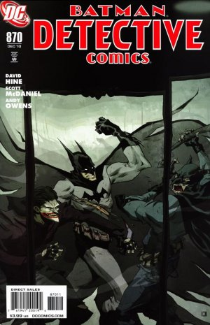 Batman - Detective Comics # 870