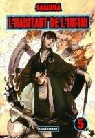 couverture, jaquette L'Habitant de l'Infini 5  (casterman manga)