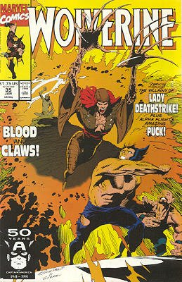 Wolverine # 35 Issues V2 (1988 - 2003)