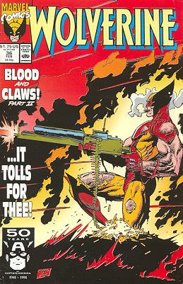Wolverine # 36 Issues V2 (1988 - 2003)