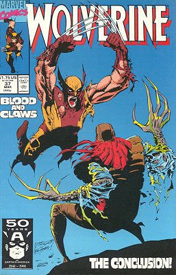 Wolverine # 37 Issues V2 (1988 - 2003)