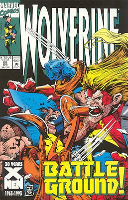 Wolverine # 68 Issues V2 (1988 - 2003)