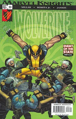 Wolverine # 23 Issues V3 (2003 - 2009)