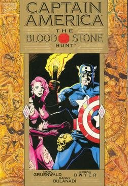 Captain America - The Bloodstone Hunt édition TPB softcover (souple)