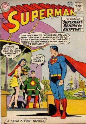 Superman 141 - Superman's Return To Krypton!