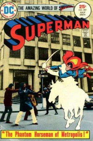 Superman 289 - The Phantom Horseman Of Metropolis!