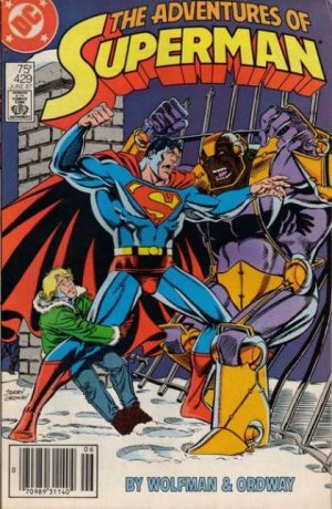 The Adventures of Superman 429 - Old Ties