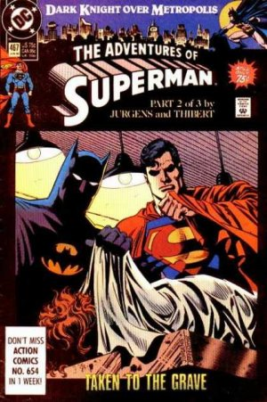 The Adventures of Superman # 467 Issues V1 (1987 à 2006)