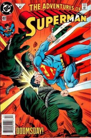The Adventures of Superman # 497 Issues V1 (1987 à 2006)