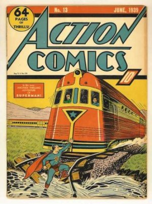 Action Comics # 13 Issues V1 (1938 - 2011)