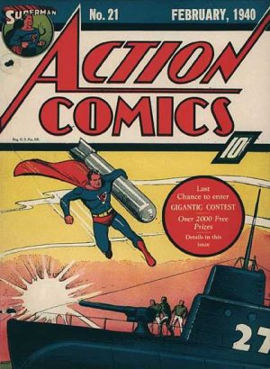 Action Comics # 21 Issues V1 (1938 - 2011)