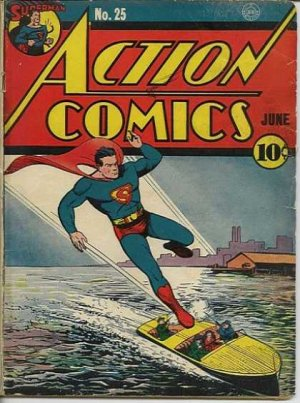 Action Comics # 25 Issues V1 (1938 - 2011)