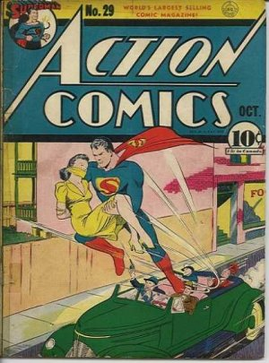 Action Comics # 29 Issues V1 (1938 - 2011)