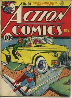 Action Comics # 30 Issues V1 (1938 - 2011)