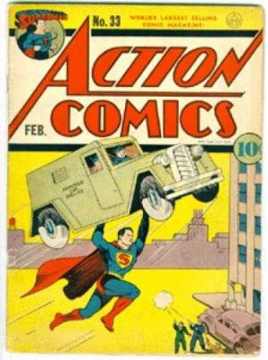 Action Comics # 33 Issues V1 (1938 - 2011)