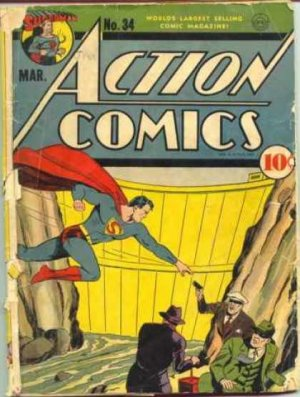 Action Comics # 34 Issues V1 (1938 - 2011)