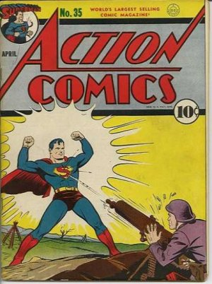 Action Comics # 35 Issues V1 (1938 - 2011)