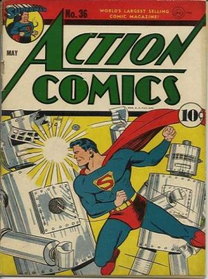 Action Comics # 36 Issues V1 (1938 - 2011)