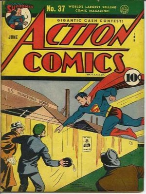 Action Comics # 37 Issues V1 (1938 - 2011)