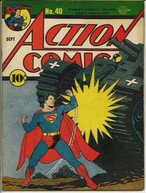 Action Comics # 40 Issues V1 (1938 - 2011)