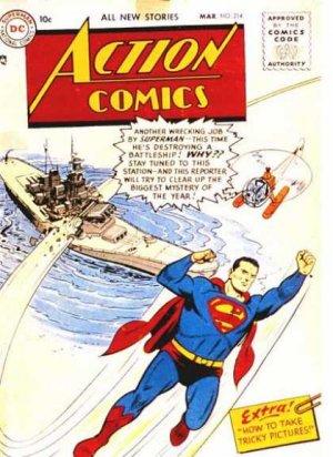 Action Comics # 214