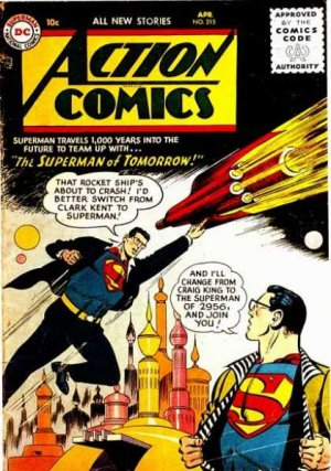 Action Comics # 215