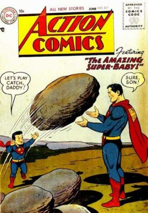 Action Comics # 217
