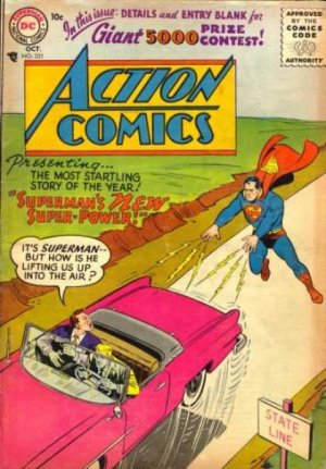 Action Comics # 221