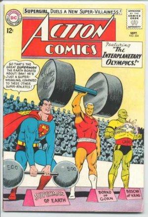 Action Comics # 304
