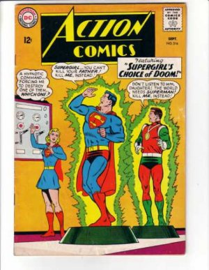 Action Comics # 316
