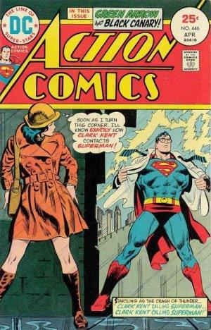 Action Comics 446 - Clark Kent Calling Superman...Clark Kent Calling Superman!