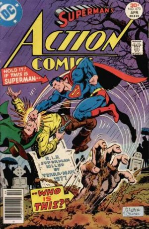 Action Comics # 470
