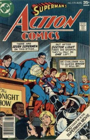 Action Comics # 474