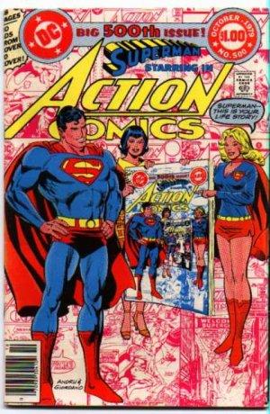 Action Comics # 500