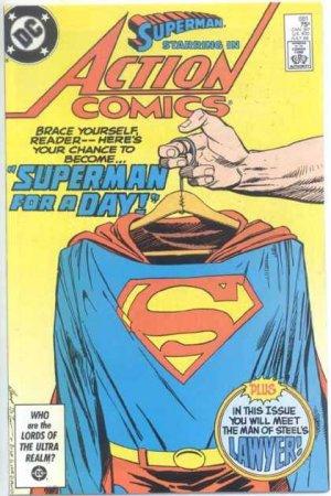 Action Comics # 581