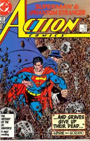 Action Comics 585 - And Graves Give Up Their Dead...