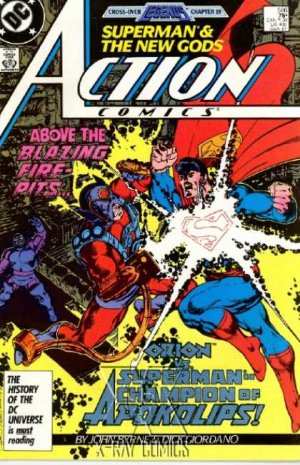 Action Comics 586 - The Champion!