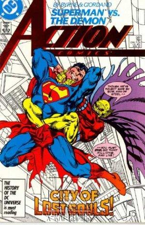 Action Comics # 587
