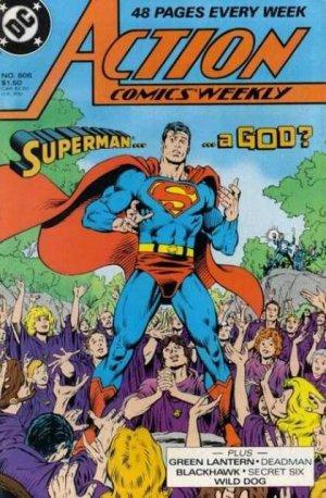 Action Comics # 606