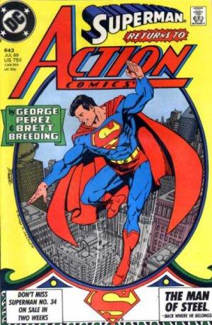 Action Comics # 643