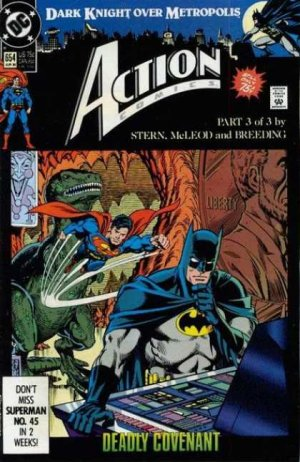 Action Comics # 654 Issues V1 (1938 - 2011)