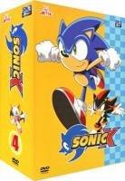 couverture, jaquette Sonic X 4 SIMPLE  -  VF 2 (Déclic images)