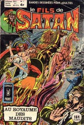 Le fils de Satan édition Kiosque (1975 - 1981)
