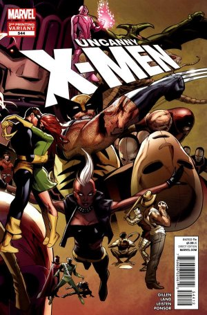 Uncanny X-Men 544 - The final Issue