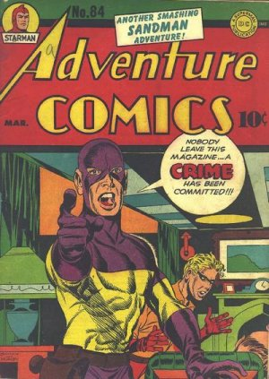 Adventure Comics # 84